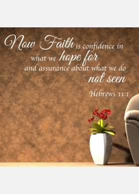 Faith and Hope Wall sticker