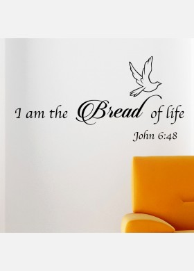 I am the bread of life Wall sticker