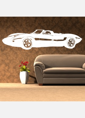 Jaguar XJ13 Vinyl Wall Sticker