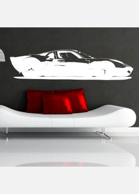 Ford GT40 Vinyl Wall Sticker
