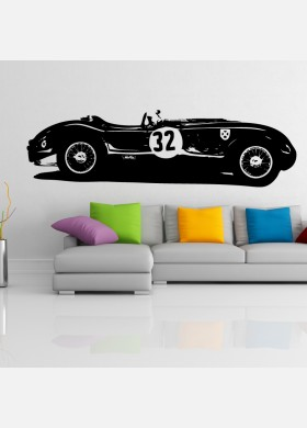 Jaguarl C-Type Vinyl Wall Sticker