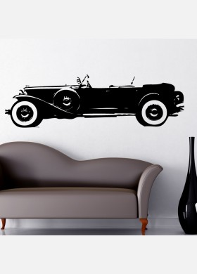 Duesenberg Model J Vinyl Wall Sticker