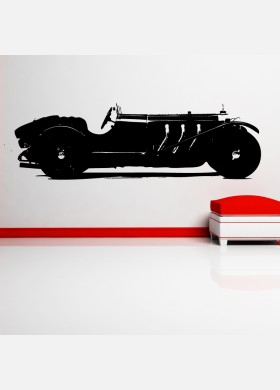 Mercedes-Benz SSK Vinyl Wall Sticker