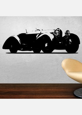 Mercedes-Benz SSK Vinyl Wall Art