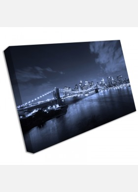 Large New York Canvas print  picture Brooklyn Bridge wall art cit2
