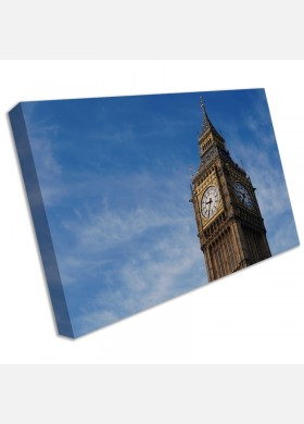 Big Ben London City Canvas Pictures Cityscape Wall Artwork Prints cit38