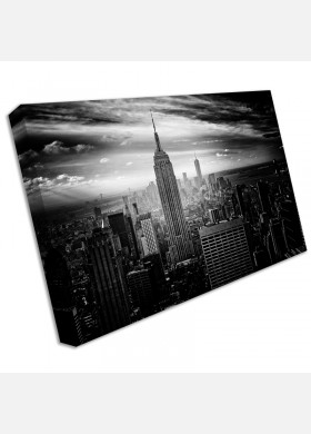 New York Canvas Large Empire State Scenic Landscape Canvas Print Large cit52