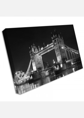 Tower Bridge London Landscape Poster Wall Art Print Canvas cit6