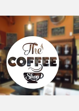 The Coffee Shop Wall Sticker