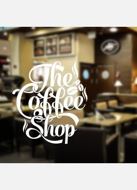The Coffee Shop Wall Decal