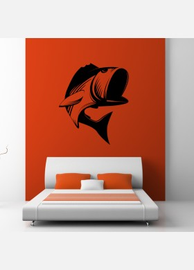 Fish wall sticker decal