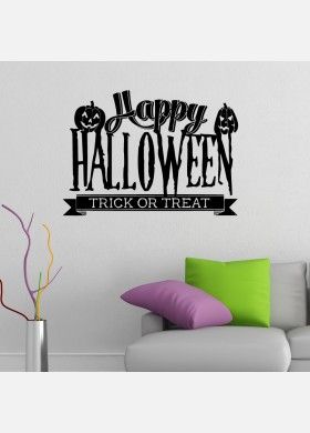 Happy Halloween Trick or Treat Sticker