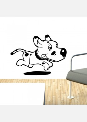 Farm Dog Wall Sticker
