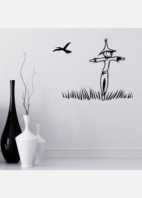 scarecrow Wall Sticker