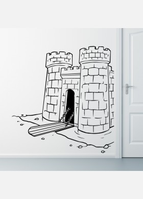 Castle Wall Sticker