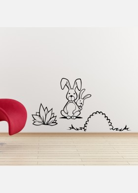 Rabbits Wall Sticker