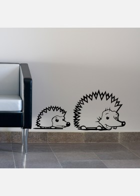 Hedgehogs Wall Sticker