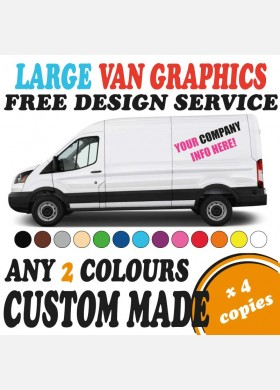 Custom van graphics