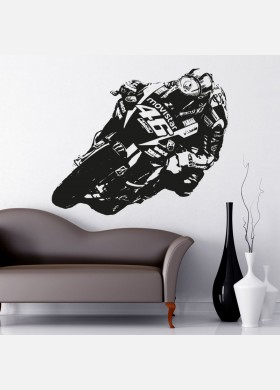 Valentino Rossi Wall Sticker