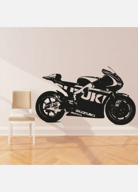 Moto GP Suzuki Motorbike Wall Sticker