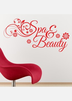 Spa and Beauty Wall sticker