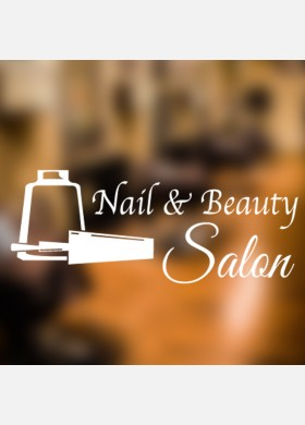 Nail and Beauty Salon graphic