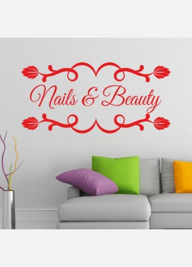 Nails and Beauty Sign