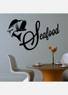 Seafood restaurant Wall Sticker