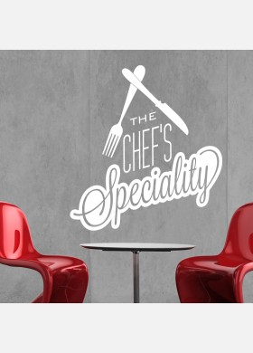 The Chefs Speciality Wall Sticker
