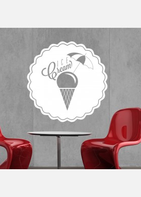 Ice cream decals