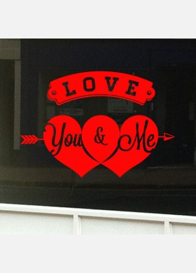 Valentines Day Shop Sticker vd10
