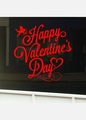 Valentines Day Shop Sticker vd2