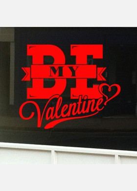 Valentines Day Shop Sticker vd3