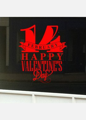 Valentines Day Shop Sticker vd4