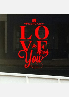 Valentines Day Shop Sticker vd7