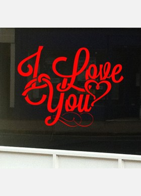 Valentines Day Shop Sticker vd8