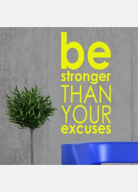 Motivational Fitness Gym Wall Sticker
