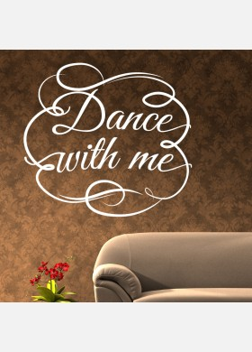 Dance with me Wall Sticker decal