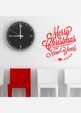 Christmas and New Year Wall Sticker