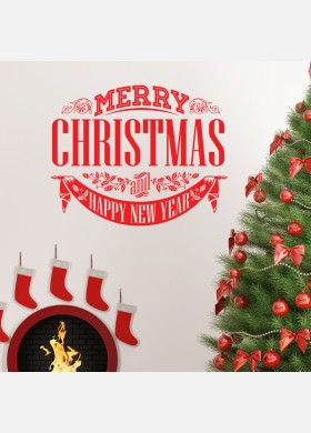 Christmas Decal Wall Sticker