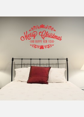 Christmas Holly Decal Wall Sticker