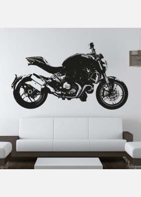 Ducati Monster 1200 Motorbike Wall Sticker & Motorbike wall stickers